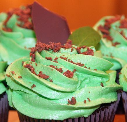 Mint Cupcake Ideas