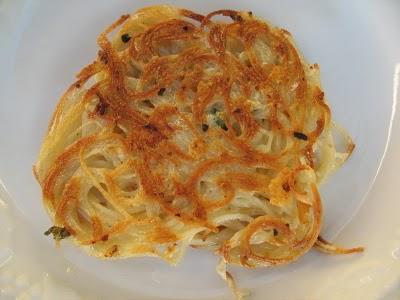 Leftover Pasta Patties