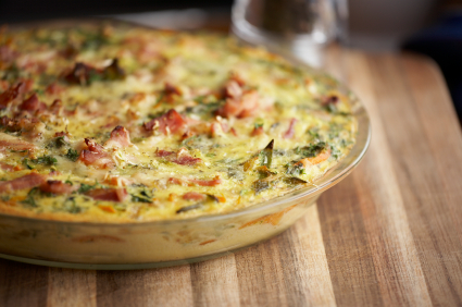 Egg And Bacon Frittata Recipe by John04 | iFood.tv