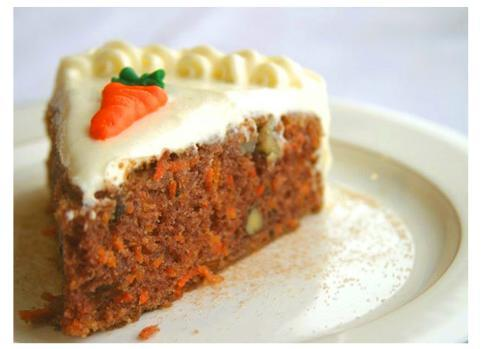 Carrot Cake - Healthy Dessert In Potluck Menu
