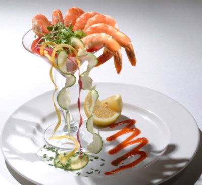How to serve shrimp cocktail