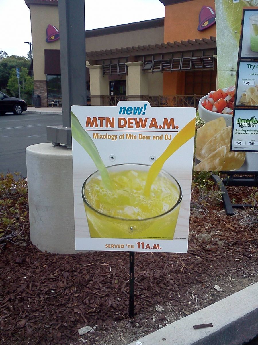 Taco Bell Drink