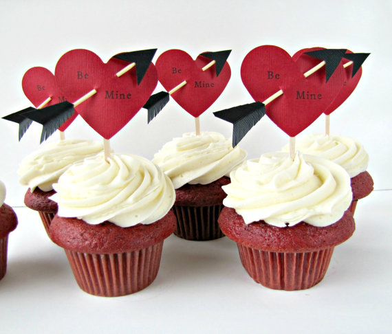 Edible cupid arrows for your valentine