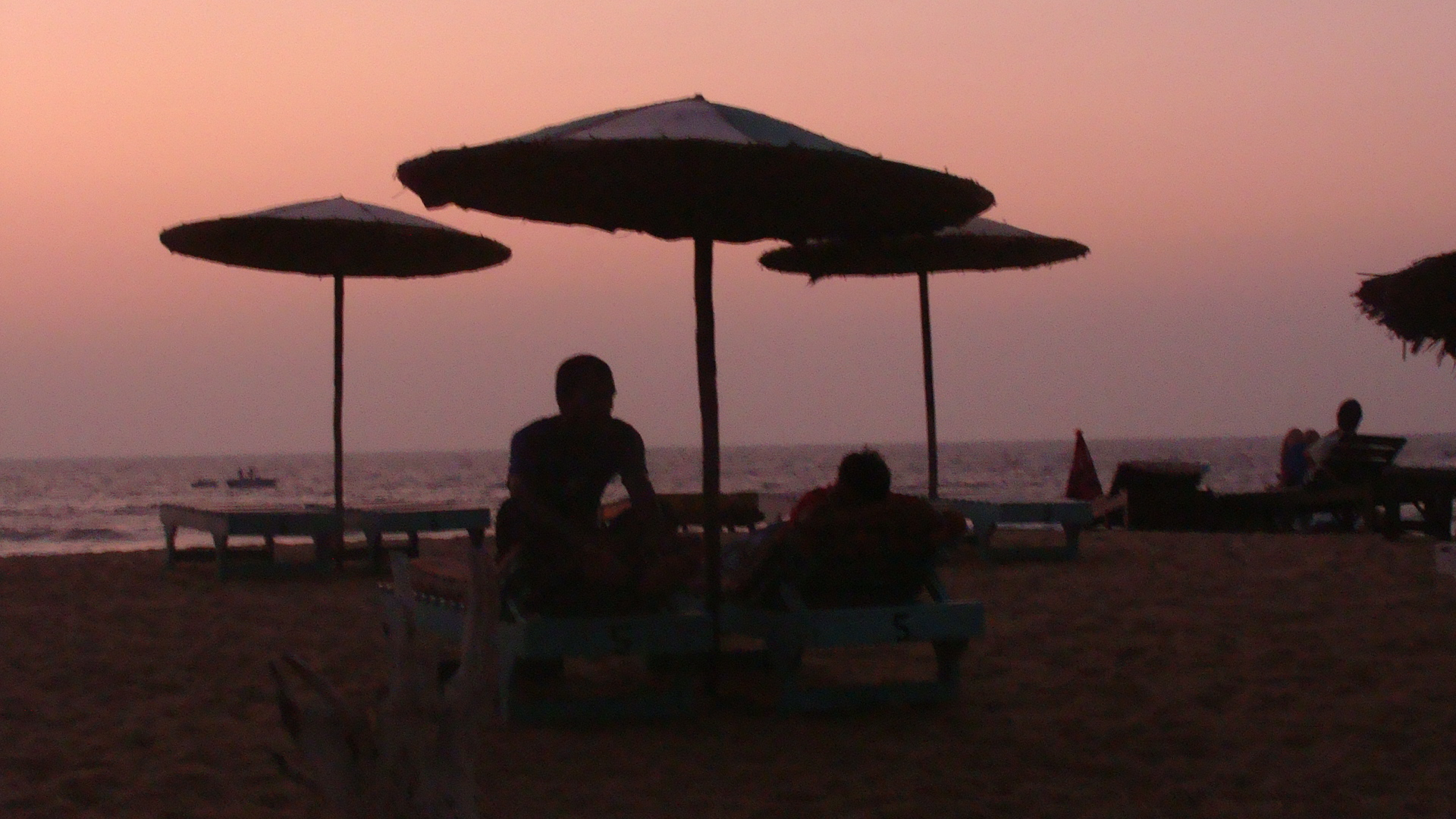 A evening in Goa