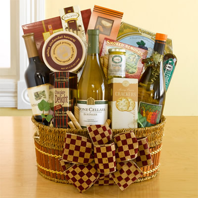 v christmas gift baskets