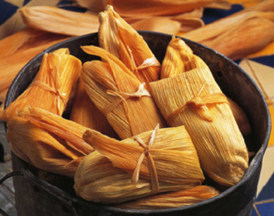 Tamales is an authentic Mexican dish which is made from corn dough