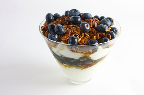 Blueberry parfait