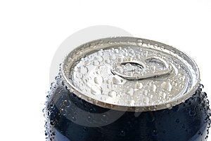 A cool can of soda