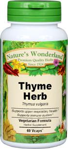 Thyme Capsule Benefits