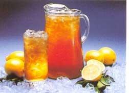 Drinking iced tea for diabetes