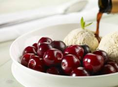 Picota Cherries And Vanilla Ice-cream With  A Twist picture