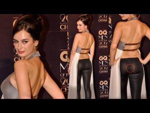 Evelyn Sharma's OOPS moment at GQ Awards 2012 | ifood.tv