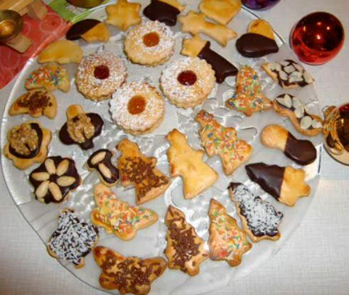 christmas recipes on how to make traditional german christmas cookies recipe video by