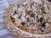 Lamb And Spinach Pilaf