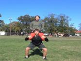 100 Partner 300 Lb Body Weight Squats (100 Squats A Day)
