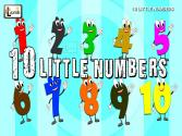 Ten Little Numbers Song For Kids | Numbers Song For Kids