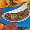 Hamburger Tacos