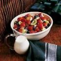 Fruit Salad With Creamy Topping