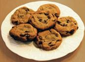 Oats & Chocolate Chip Cookies