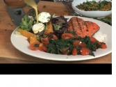 Spicy Spinach And Salmon Gremolata