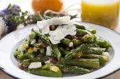 Grilled Asparagus &amp; Egg Salad With Meyer Lemon Vinaigrette