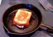 Grilled Three Cheese Sandwiches