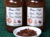 Apple, Date And Ginger Chutney