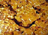 Homemade Cashew Brittle
