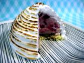 Strawberry Ice Cream And Baked Alaska - The Aubergine Chef