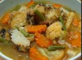 Spicy Sour Thai Fish Soup