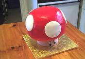 3 D Super Mario Mushroom Cake