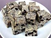 3 Ingredient Cookies & Cream Fudge