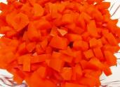 Holiday Red Cinnamon Candy Carrots