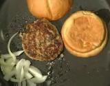 Chutney Stuffed Turkey Burgers