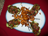 Caribbean Spiced Shrimp Kabobs
