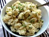 Very Low Fat Green Onion And Potato Salad