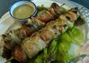 Skewered Pork With Teriyaki Sauce