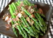 Sauteed Asparagus  Ham, Garlic And Lemon