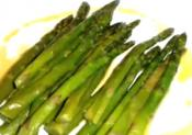 Asparagus With Parsley Sauce