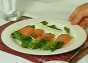 Smoked Salmon With Asparagus And Sour Cream Sauce
