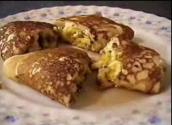 Tangy Cottage Cheese Filled Pancakes