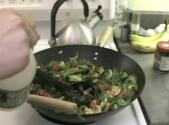 Vegetable Stir Fry And Asparagus With Rice Part 1 - Finishing