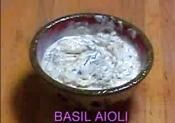 Basil Aioli Dip