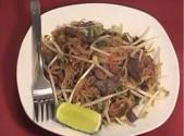 Chinese Stir-fried Beef Noodle