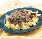 Light Beef Stroganoff