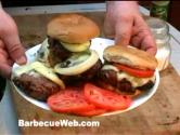 Best Hamburgers On The Barbecue Grill