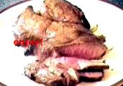 Garlic-stuffed Sirloin