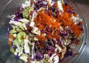 Apple Cabbage And Walnut Salad