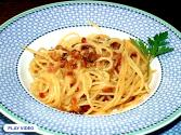 Spaghetti Carbonara With Chicken Stock
