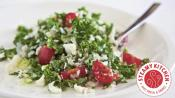 Healthy Eating With Cauliflower And Kale Salad